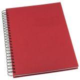 Notatbok Grieg Design spiral A5 linjert rød