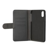 GEAR Lommebokveske svart iPhone XR Magnetdeksel