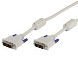 Vivanco Data kabel DVI-D Hann - DVI-D Hann single-link 1,8 m