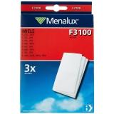 Menalux Miele F3100 mikrofilter, 3-pakk