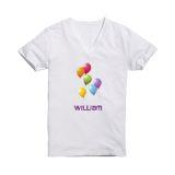 T-shirt transfer hvit A4 5 ark