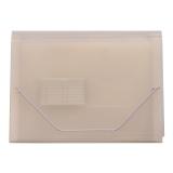 Hjemmearkiv A4 12 lommer transparent hvit