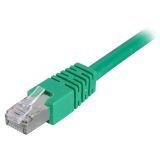 DELTACO U/UTP Cat6 patchkabel 3 m, grønn