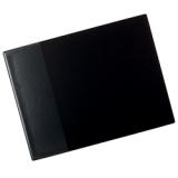 Skriveunderlag 53 x 40cm med lomme svart