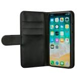 GEAR Lommebokveske svart iPhone X/Xs Magnetdeksel