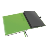 Notatbok Leitz iPad-størrelse, rutete, svart