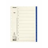 Register Servo A4/1-10 blå FSC® Mix100%