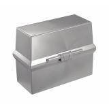 Kartotekboks Cardo 250 A7 Lys grå