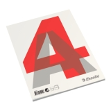 Limt blokk A4 Ulinjert60g/100 ark