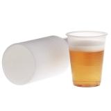 Plastbeger 21cl transparent (100)