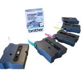 Tape BROTHER TX241 18mm svart på hvit