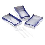 Bestikk transparent gaffel (50)