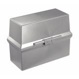 Kartotekboks Cardo 250 A6 Lys grå